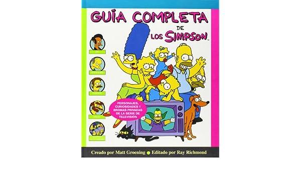 Guia completa de los Simpson (Spanish Edition): Matt ...