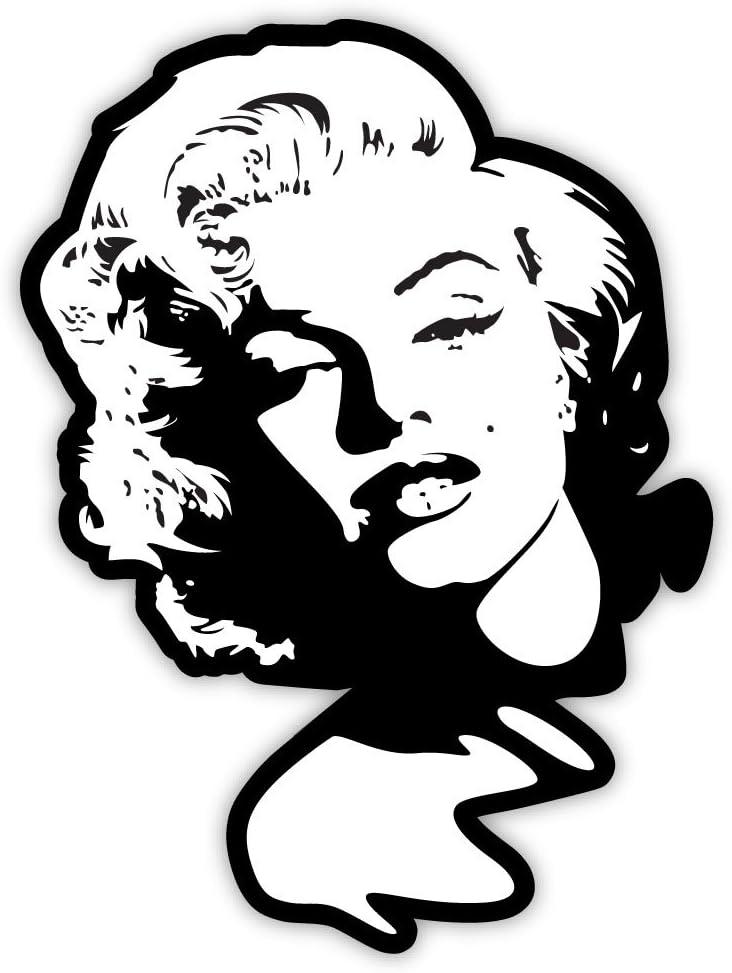 """Marilyn Monroe sticker decal 3"""" x 5"""""""