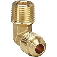 Midland 28-722F Brass JIC 37 Degree Flare 45 Degree Angle Forged Elbow 4367 psi Working Pressure 1//8-27 A NPTF 7//16-20 Tube Thread 1//4 Tube OD