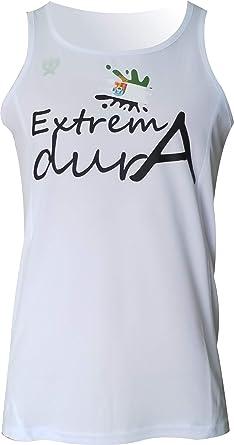 EKEKO Camiseta Extremadura, Running, Atletismo y Deportes de Playa. (S): Amazon.es: Ropa y accesorios