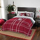 Alabama Crimson Tide Bama Comforter and Sham Bed Set
