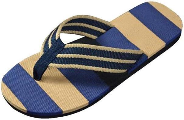VENMO Chanclas Hombres Verano Sandalias Zapatilla Zapatos Hombres Chanclas de Hombre de la Raya de Verano Zapatos Chanclas Hombre Zapatillas: Amazon.es: Zapatos y complementos