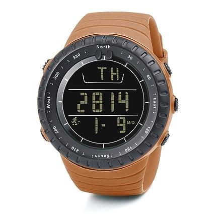 Elegante Producto Nuevo Run Step Watch Pulsera Podómetro Contador de Calorías Digital LCD Walking Distance para