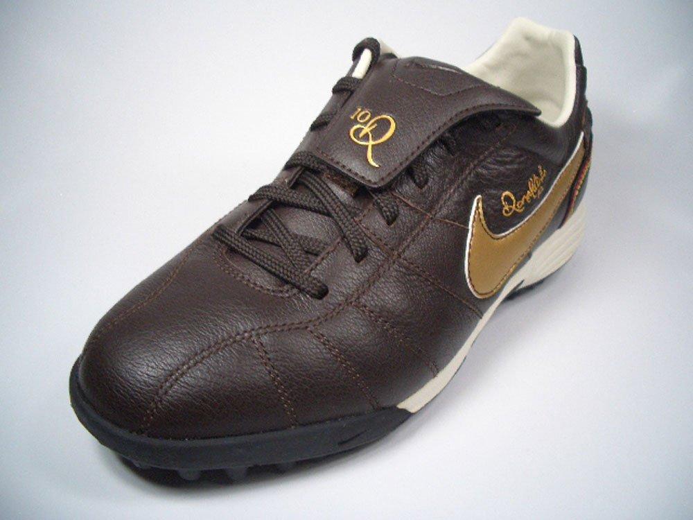Nike JR. Tiempo Ronaldinho TF 315368 - 271 marrón de oro tamaño euro 36/US 4Y/UK 3,5/23 cm: Amazon.es: Deportes y aire libre