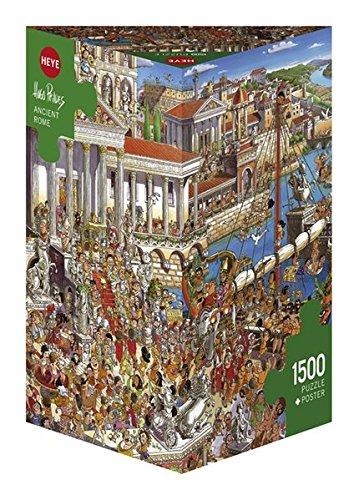 Heye 29791 Ancient Rome Prades Triangular Puzzle
