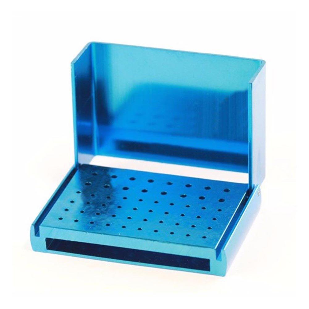ZREAL Caja de desinfecci/ón Autoclave de 1 Orificio para Porta Orificios de 58 Orificios