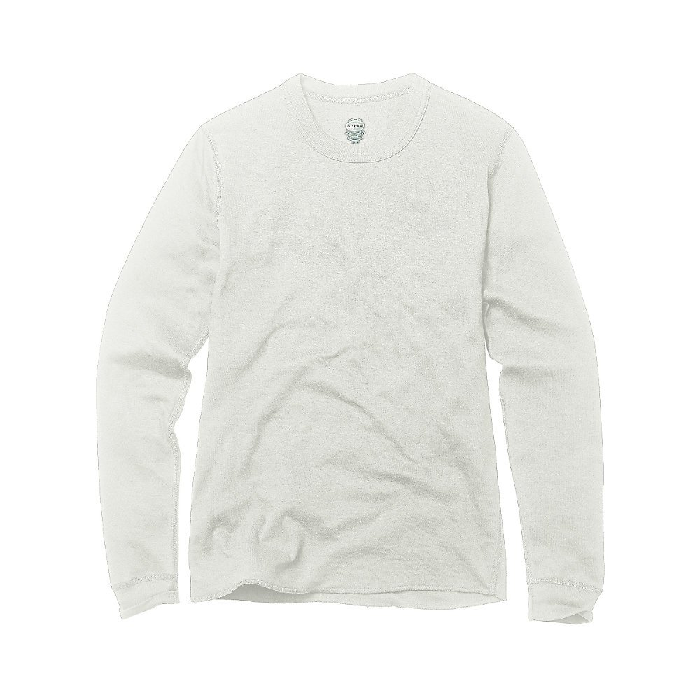 Duofold by Champion Youth Long Sleeve Thermal Crew Shirt Winter White