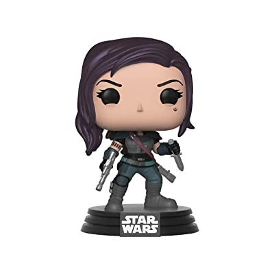 Funko Pop Star Wars: The Mandalorian - Cara Dune Collectible Figure, Standard, Multicolor: Toys & Games