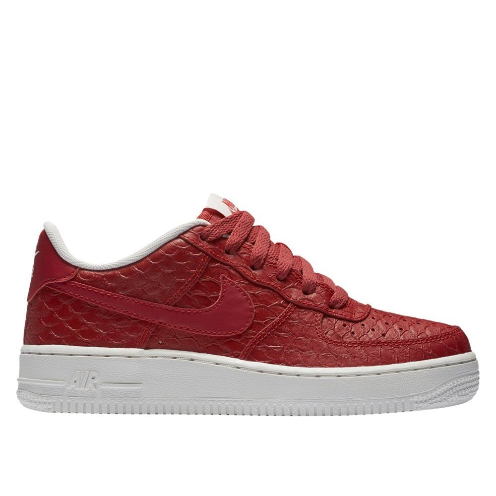 super popular c0a97 07a91 Galleon - Nike Air Force 1 LV8 (Big Kid) (6 M US Big Kid, Action Red Action  Red-Summit White)