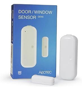 Amazon.com : Aeon Labs Aeotec Z-Wave Door/Window Sensor, 2nd ...
