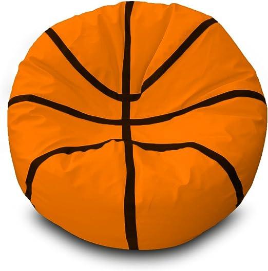 Puff Basketball Ø100cm (Naranja): Amazon.es: Hogar