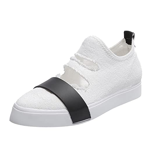 BBestseller-Zapatos zapatos deportivos mujer, tela elástica Mujer Zapatos Deportivos Plano Zapatillas de Running Deportes para Mujer Gimnasio Correr: ...