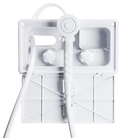 Amazon.com: AOSGYA - Kit de ducha exterior para caravana ...