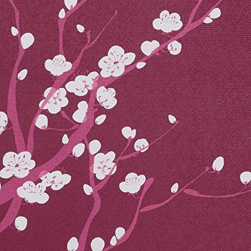 Gaiam Yoga Mat Classic Print Non Slip Exercise & Fitness Mat for All Types of Yoga, Pilates & Floor Exercises, Pink Cherry Blossom, 68L x 24W x 4mm.
