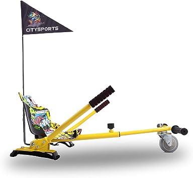 Hoverkart- Go Kart Kit de Conversión para Hoverboards - Todas las ...