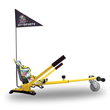Hoverkart- Go Kart Kit de Conversión para Hoverboards ...