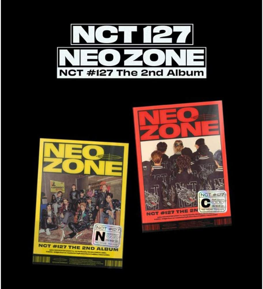 Details about  /NCT #127 NEO ZONE 2nd Album Random or SET CD+Photocard+Postcard+Poster+2Gift New