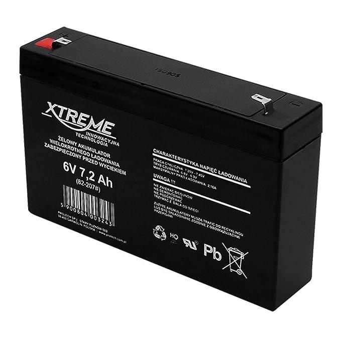Xtreme - Batería de movilidad 12V 2.3Ah AGM de gel: Amazon.es: Bricolaje y herramientas