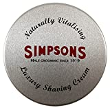 Simpsons Luxury Shaving Cream 125 ml Tin by Simpsons Bild