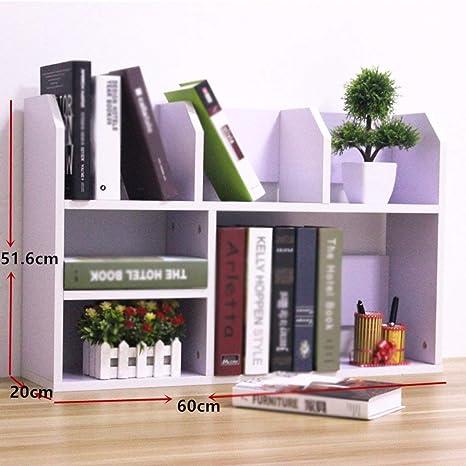 Amazon Com Bixiangjim Simple Table Shelf Small Desk On The