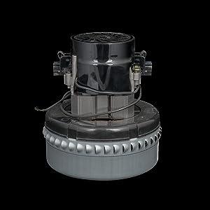 """120V Vacuum Motor, 2 Stage, 5.7"""" dia. AMETEK 116336-01"""