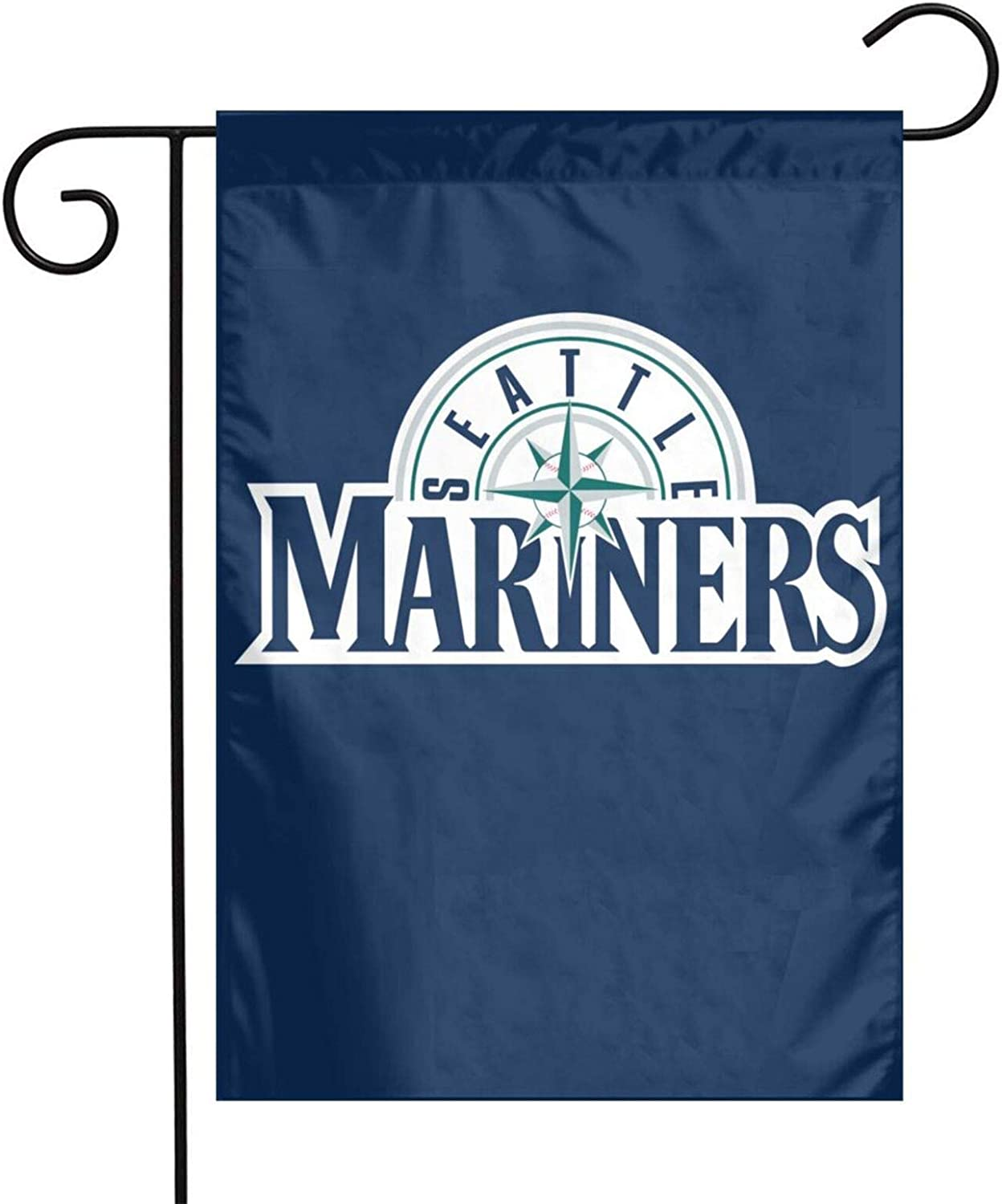 Lilian Ralap Se-at-Tl-E Mariners Garden Flag,Home Rustic Garden Yard Decorations,Seasonal Outdoor Flag 12 X 18inches