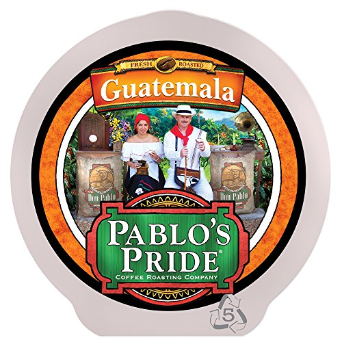 Don Pablo 84 Count K-Cups, Guatemala Gourmet Coffee Medium - Dark Roast, Keurig Brewers 2.0 Compatible K-cup 84 ct