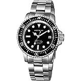 NEYMAR 40 mm Men's Swiss 2824 Automatic 1000 m Stainless Steel Diver Watch