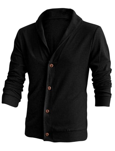 Para cama individual para hombre Casual chaqueta pechos cuenta con un cuello amplio: Amazon.es: Ropa y accesorios