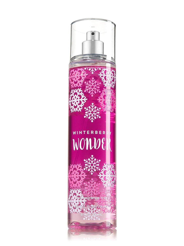 Bath & Body Works Winter Berry Wonder Fine Fragrance Mist, 8 Fl Oz