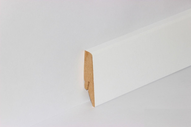 Fußbodenleiste Weiß kgm sockelleiste weiß 58mm mega 20x58mm clip leiste