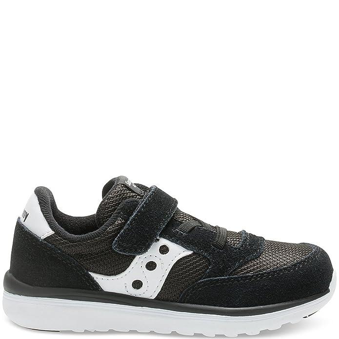 Saucony Boy's Baby Jazz Lite Shoes, Black, 4 W US Toddler