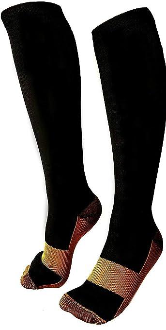 b220dd0685 Copper Compression Socks, Men & Women, Best Anti-Swelling Anti-Fatigue  Varicose