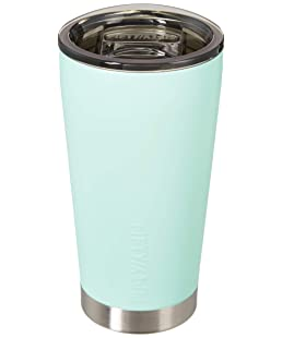 FIFTY/FIFTY Double Wall Vacuum Insulated Travel Tumbler, 16oz/473ml, Cool Mint