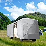 NEH® WATERPROOF SUPERIOR RV MOTORHOME FIFTH WHEEL COVER COVERS CLASS A B C FITS LENGTH 31'-34' NEW TRAVEL TRAILER CAMPER ZIPPERED PANELS ALLOW ACCESS TO THE DOOR, ENGINE AND BOTH SIDE STORAGE AREAS
