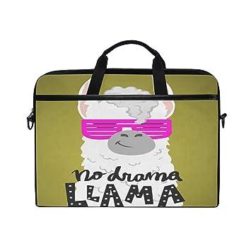 749e237ea7d0 Amazon.com: TropicalLife Laptop Bag Funny Llama Animal Alpaca ...