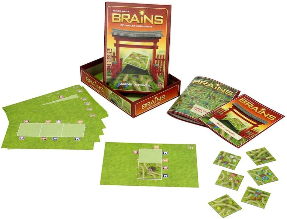 SD Games Brains: El jardín japonés, Juego de Mesa (SDGBRAINS01): Amazon.es: Juguetes y juegos