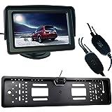 """Buyee Funk Auto Rückfahrkamera 170° Nachtsicht+Nummernschild+4,3"""" Bildschirm Monitor"""
