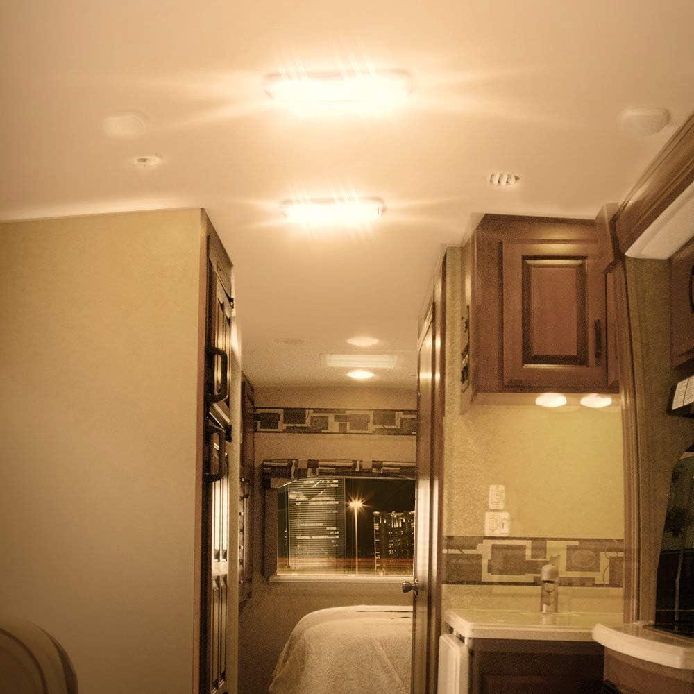 Lumitronics RV 4 LED Recessed Interior Dome Puck Light