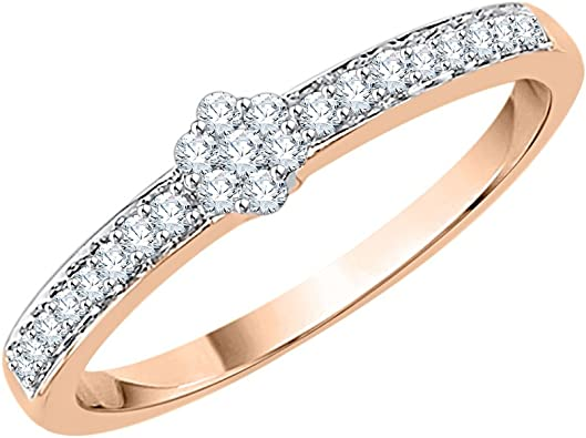 Size-12.5 G-H,I2-I3 1//6 cttw, Diamond Wedding Band in 10K Yellow Gold
