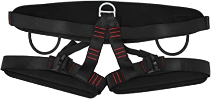Adjustable Outdoor Heavy Duty Tree Climbing Rappelling Belt Safety Harness Seat
