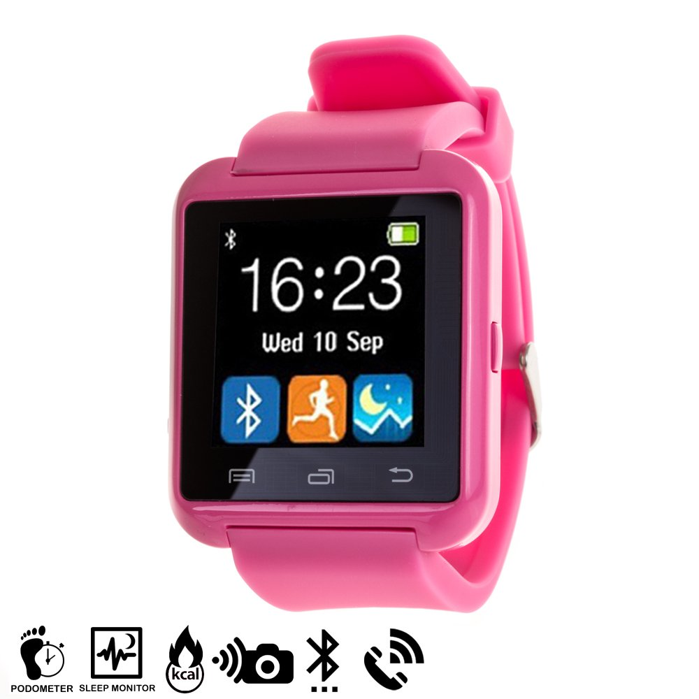 Silica DMH165PINK - Smartwatch multifunción Bluetooth Pink, Color Rosa