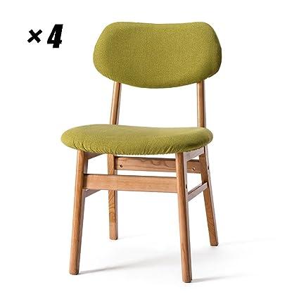 Sedie da Pranzo in Legno Massello Sedie da Cucina Moderne ...