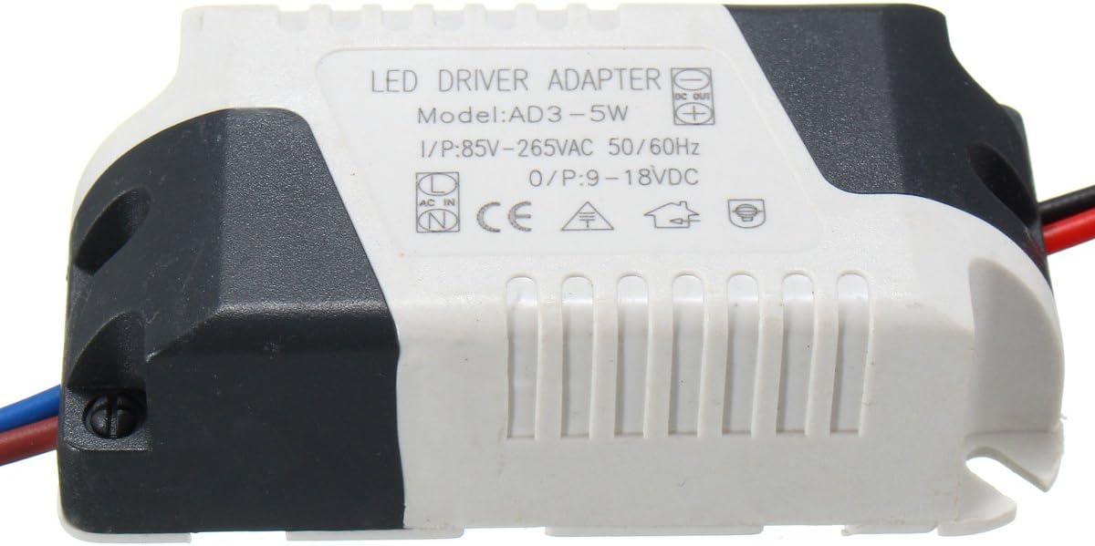 MASUNN AC85-265V To DC9-18V 3-5W 300mA LED Light Lamp Driver Adapter Transformer Power Supply