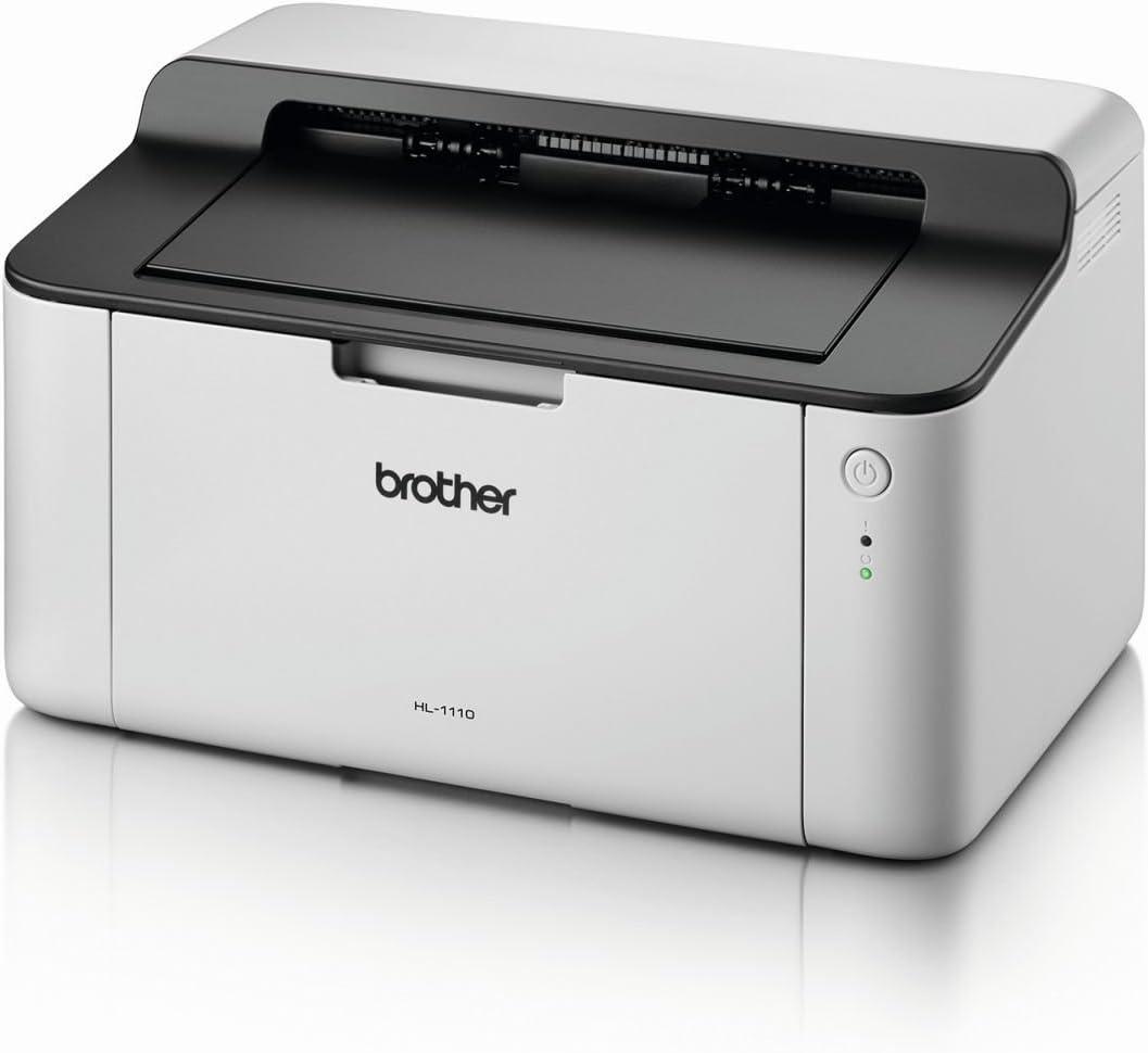 Brother HL-1110 - Impresora láser monocromo compacta: Brother: Amazon.es: Electrónica