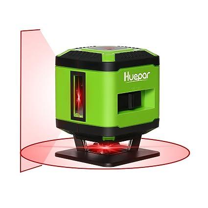 Laser Square Level Tile Laying Huepar Fl360 Floor Laser