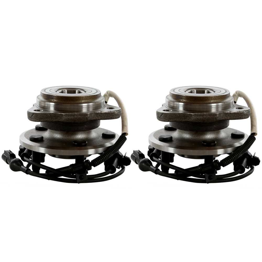 Prime Choice Auto Parts HB615054PR Front Hub Bearing Assembly Pair