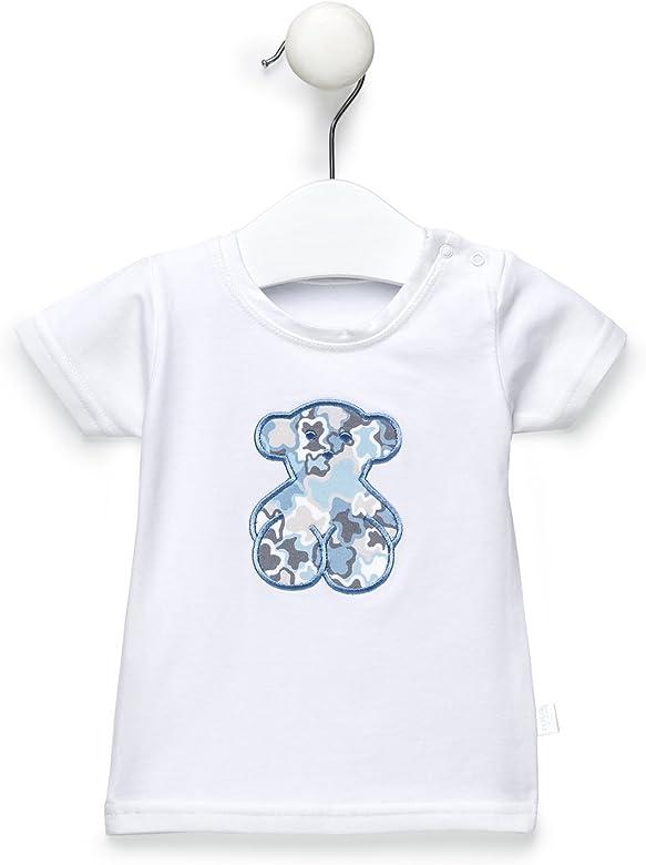 Tous Baby KCamo-802 Camiseta, Azul (Celeste 00067), 4 años (Tamaño del Fabricante:4A) para Niños: Amazon.es: Ropa y accesorios