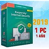 KASPERSKY INTERNET SECURITY 2019 1 PC licencia electrónica