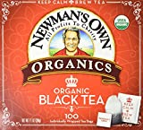 Newman's Own Organic Black Tea - 100 Bags,7.1 OZ.